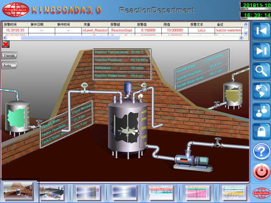 the boiler design of remote monitoring system based on the scada