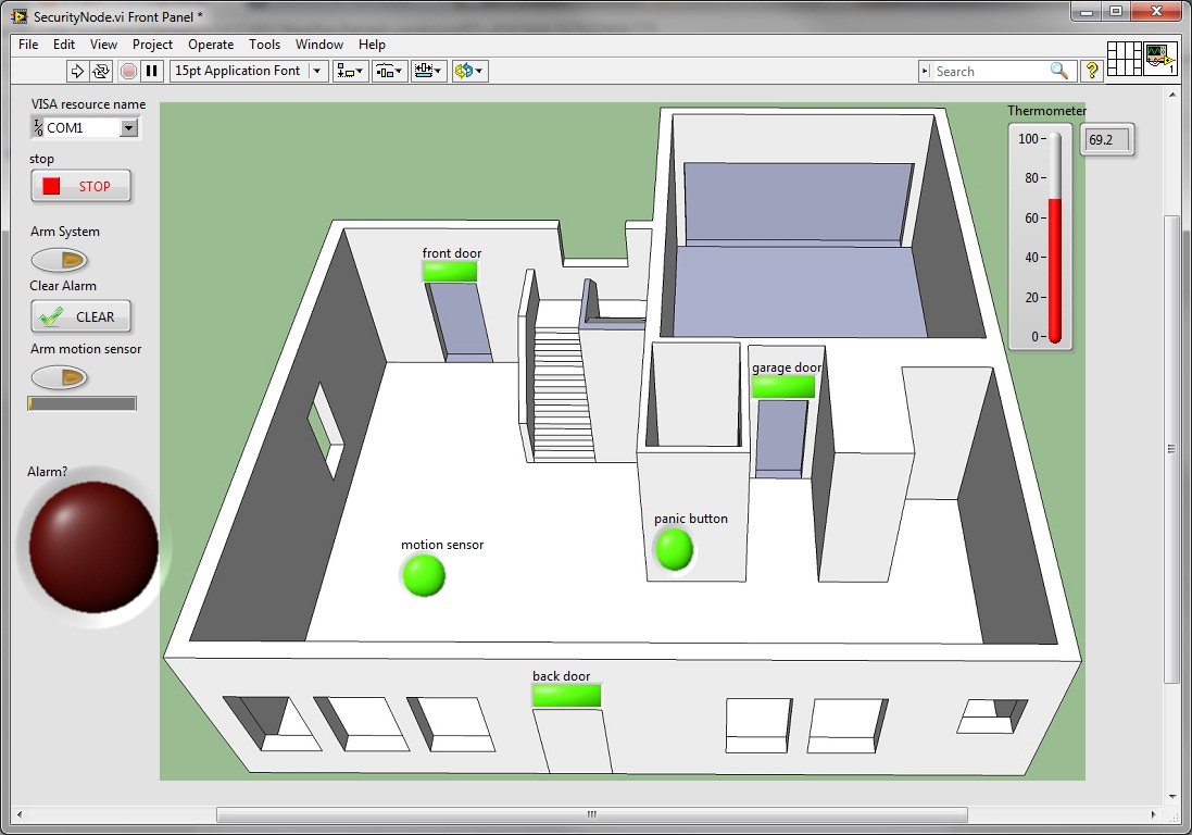 Web Based Home Automation Using Labview Labview Based